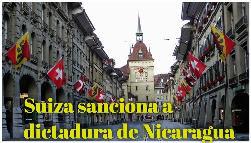 Suiza sanciona a dictadura de Nicaragua