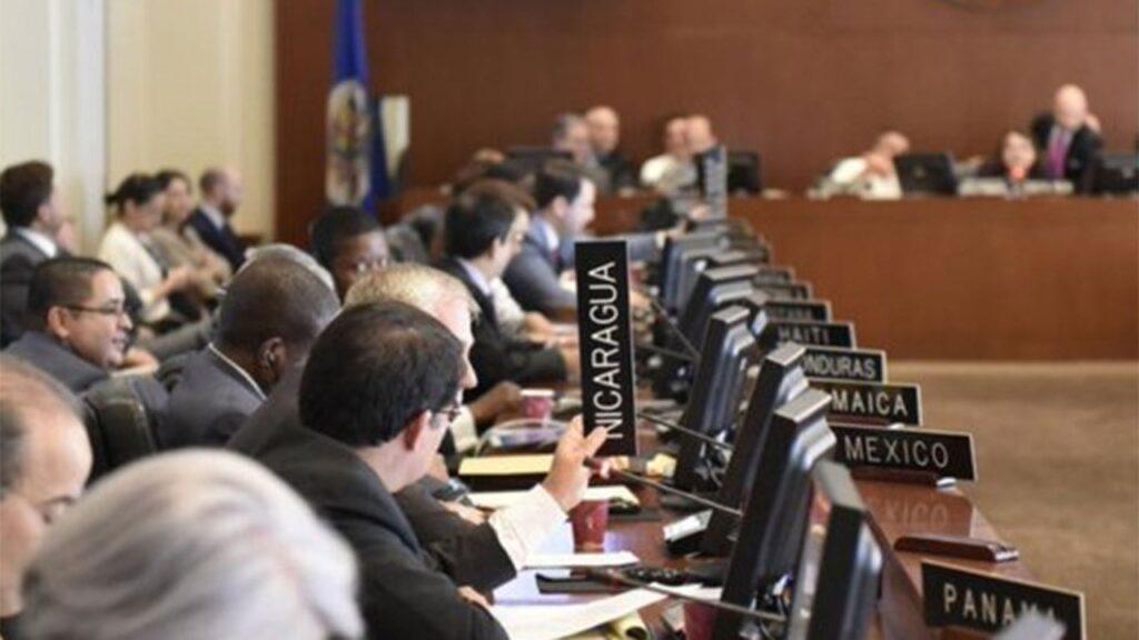 OEA sesiona sobre Nicaragua