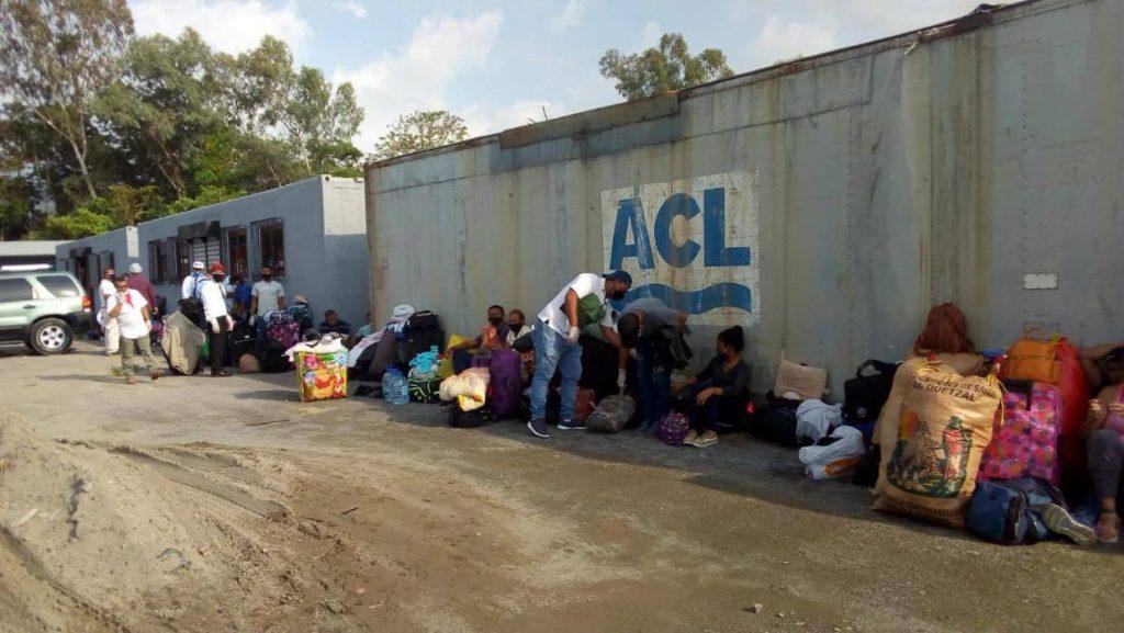 Nicaragüenses migrantes