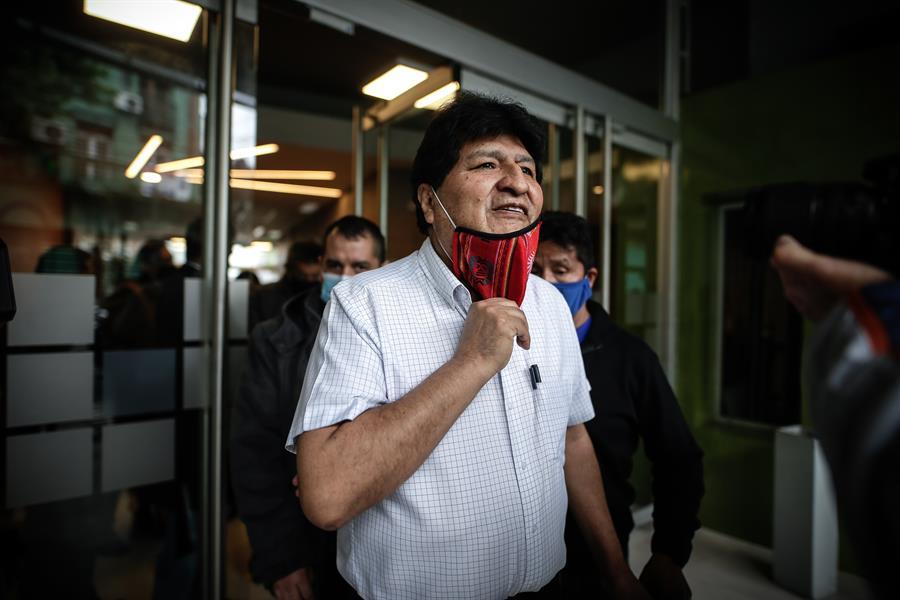Evo Morales expresidente de Bolivia