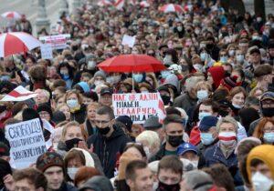 Paro nacional en Bielorrusia