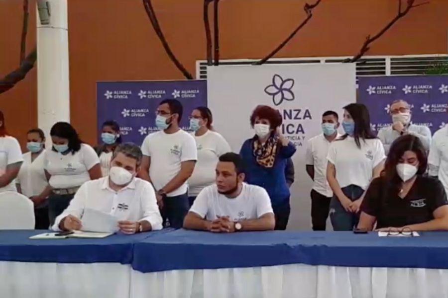 Alianza Cívica Cortesía La Prensa