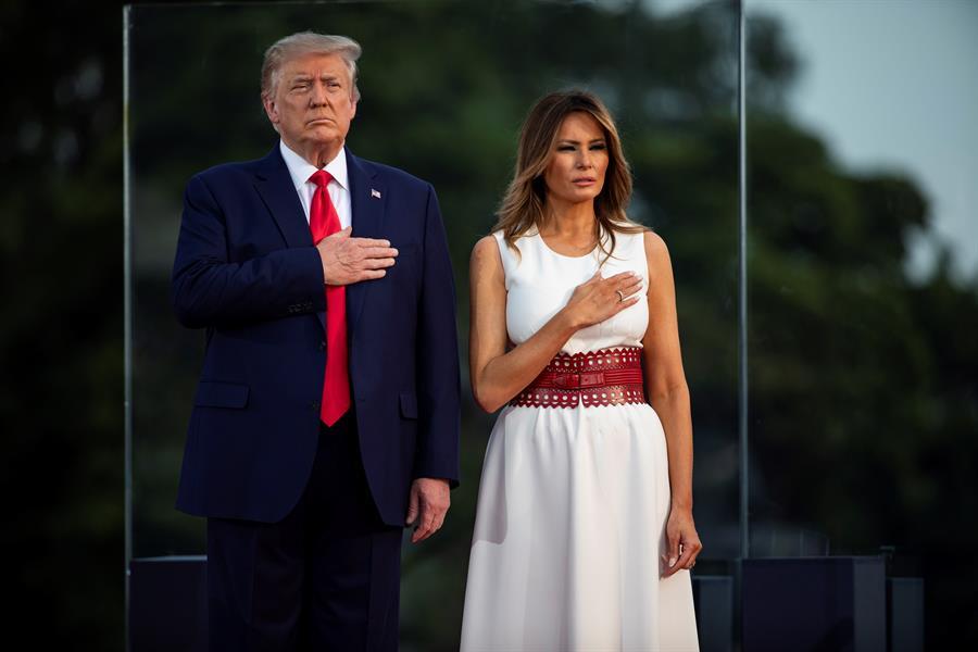 Donald Trump y su esposa, positivos al Covid-19