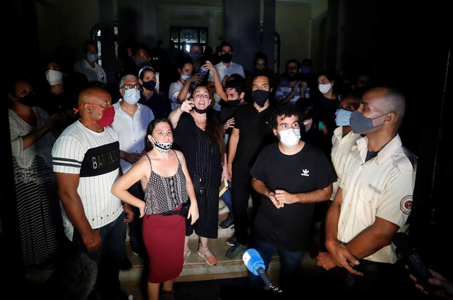 Protesta en La Habana