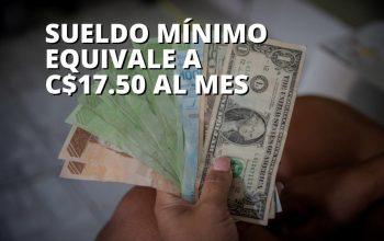 Bolívares devaluados