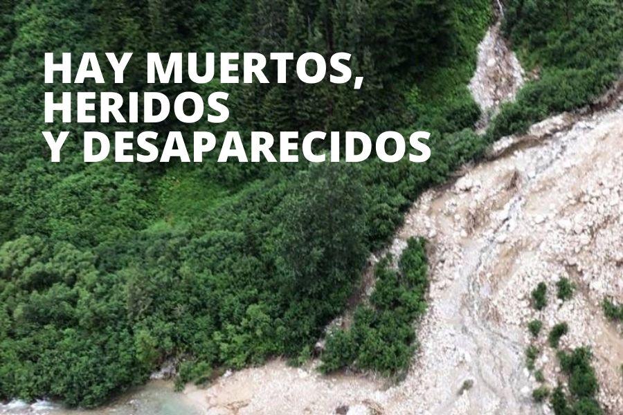 Deslave en Matagalpa