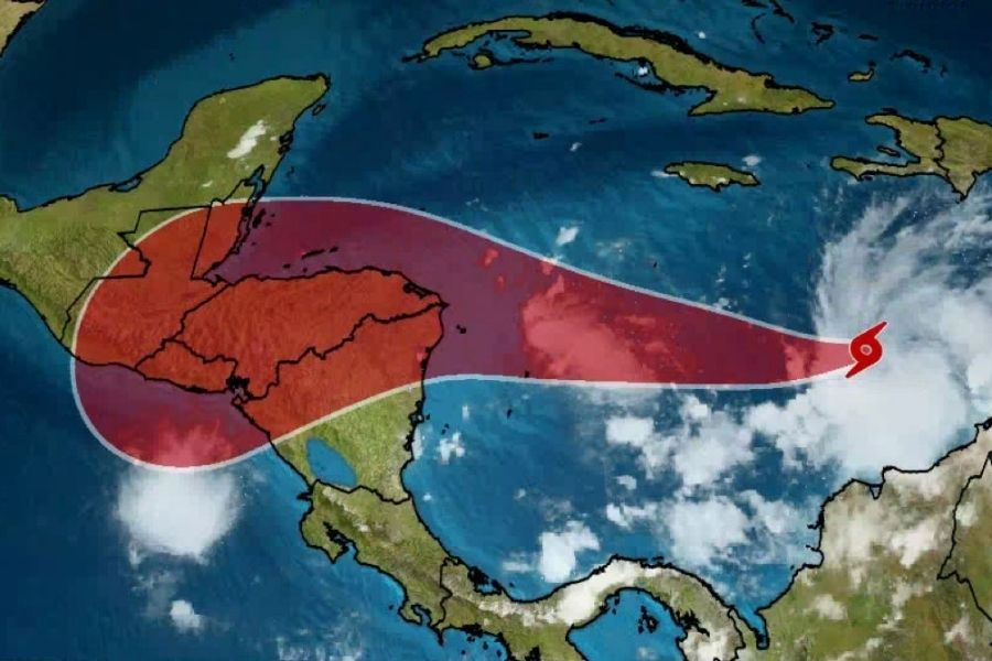 Iota avanza hacia Nicaragua