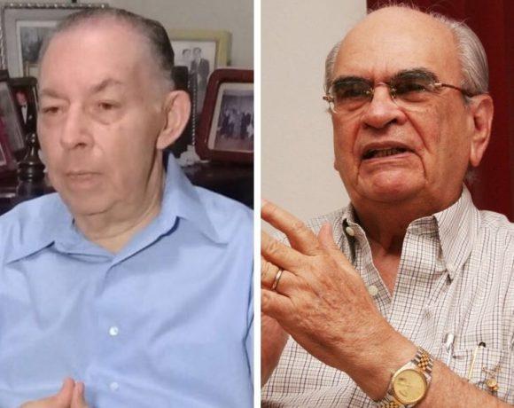 Carlos Tünnermann y Fabio Gadea