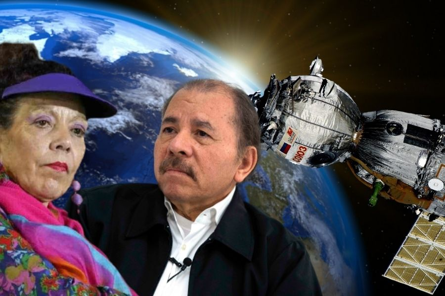 Ortega y Murillo apuntan al espacio
