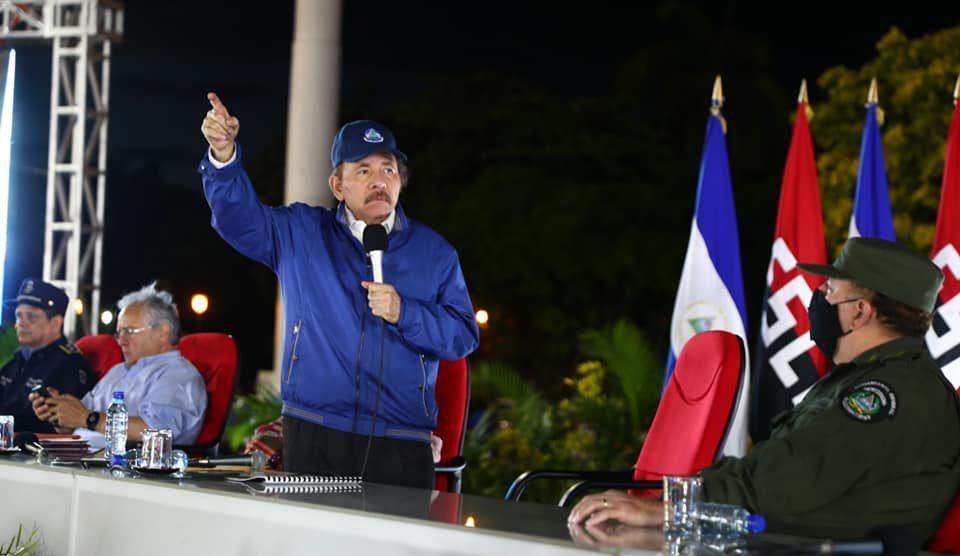 El dictador Daniel Ortega.