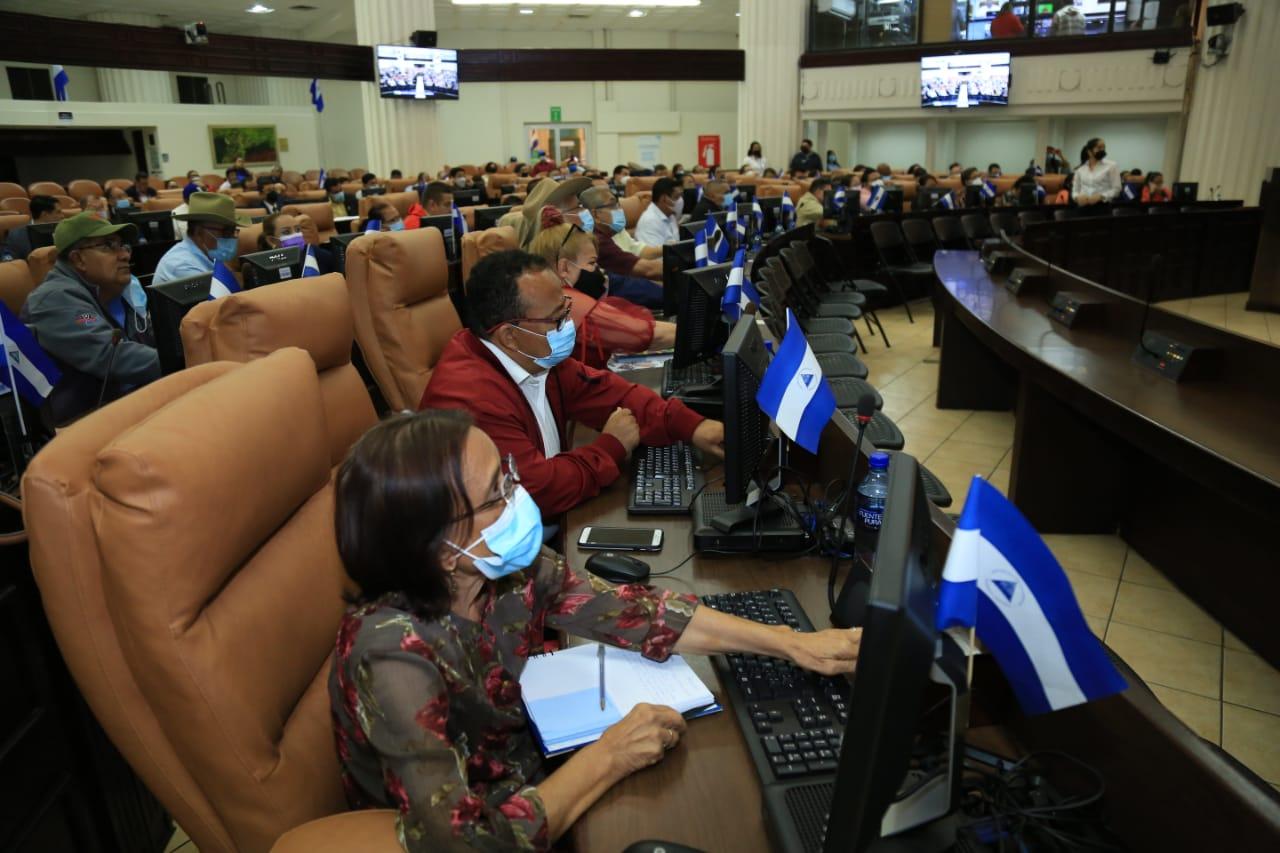 magistrados Nicaragua