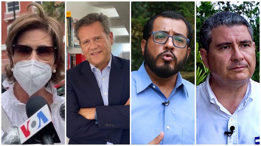 Candidatos secuestrados