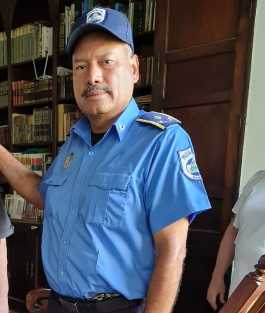 Esbirro sandinista Fidel Domínguez.