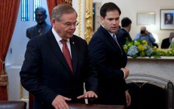 Bob Menendez y Marco Rubio - Cortesía