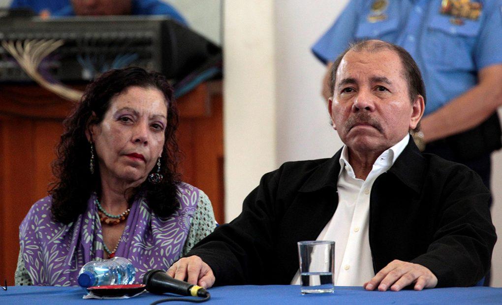 Dictador Daniel Ortega